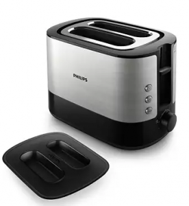 PHILIPS HD2637 2 SLICE TOASTER SILVER