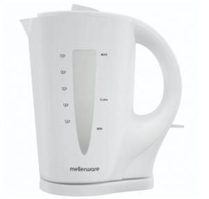 Mellerware 21002 Kettle 360 Degree Cordless Plastic – White